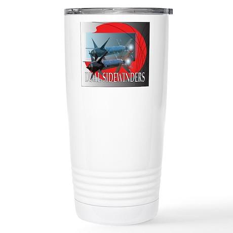 Dual Sidewinder Stainless Steel Travel Mug