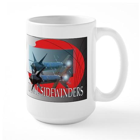Dual Sidewinder Large Mug