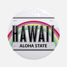 Hawaii Ornament (Round)