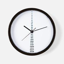 The Fibonacci Code Wall Clock