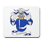 Escudero Coat of Arms Mousepad
