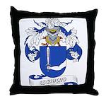 Escudero Coat of Arms Throw Pillow