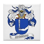 Escudero Coat of Arms Tile Coaster