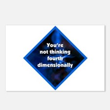 4th Dimensionally Postcards (Package of 8)