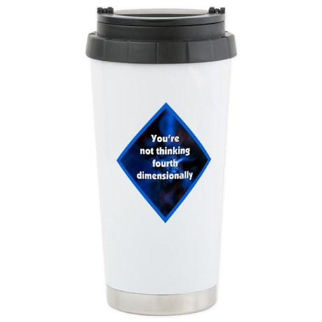 4th Dimensionally Stainless Steel Travel Mug