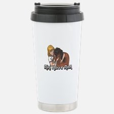 Mini Horse Mom Stainless Steel Travel Mug