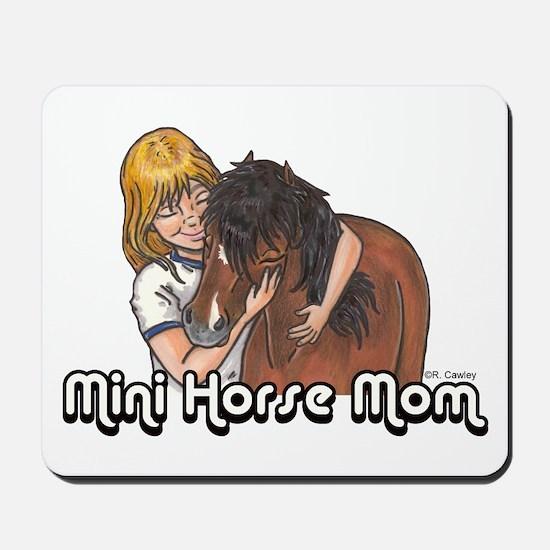 Mini Horse Mom Mousepad