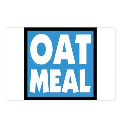 OATMEAL! Postcards (Package of 8)