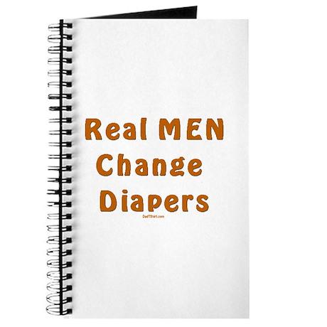 Real Men Change Diapers Dad Journal