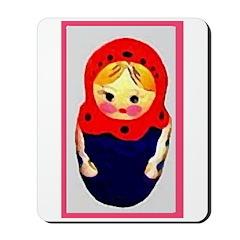 Russian Doll Mousepad