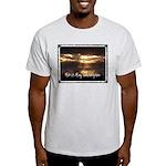 Push It Lawnmower Kids Light T-Shirt
