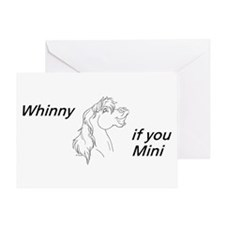 Whinny if you Mini Greeting Card