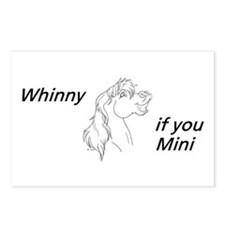 Whinny if you Mini Postcards (Package of 8)
