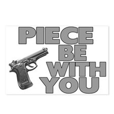 Piece Be With You Postcards (Package of 8)
