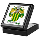 Esquerre Coat of Arms Keepsake Box