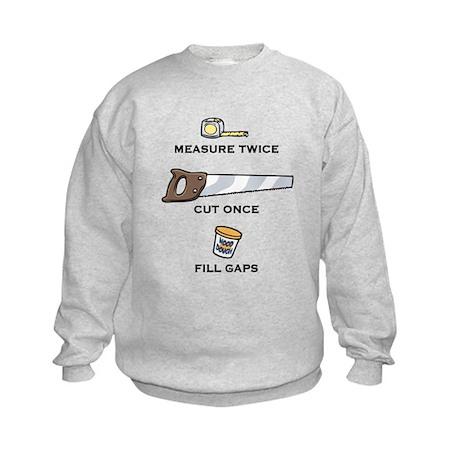 Fill Gaps Kids Sweatshirt