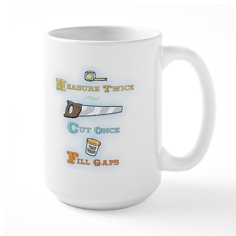 Fill Gaps Large Mug