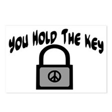 Key To Peace Postcards (Package of 8)