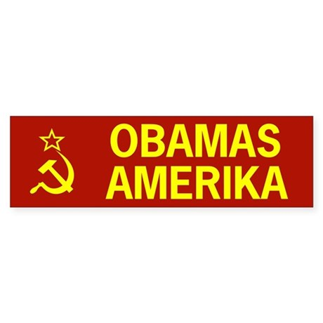 Obamas Amerika Bumper Sticker