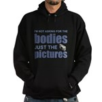 """""""Just the Pictures"""" Hoodie (dark)"""