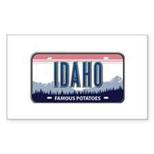 Idaho Rectangle Stickers