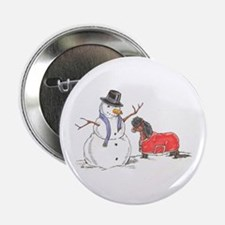 "Snowman Treat 2.25"" Button"