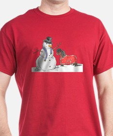 Snowman Treat T-Shirt
