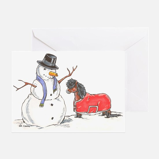 Snowman Treat Greeting Card