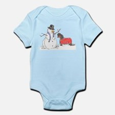 Snowman Treat Infant Bodysuit
