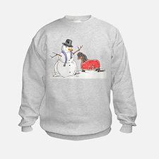 Snowman Treat Sweatshirt