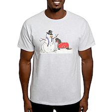 Snowman Treat T-Shirt