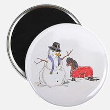 Snowman Treat Magnet