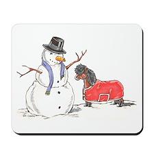 Snowman Treat Mousepad
