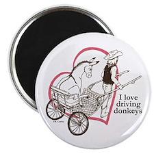 Driving Donkeys Magnet