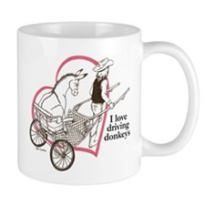 Driving Donkeys Mug