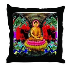 Buddha Swirl - Throw Pillow