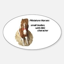Big Character Oval Decal
