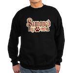 Samoyed Mom Sweatshirt (dark)