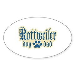Rottweiler Dad Decal