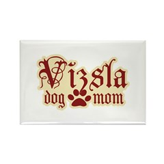 Vizsla Mom Rectangle Magnet (10 pack)