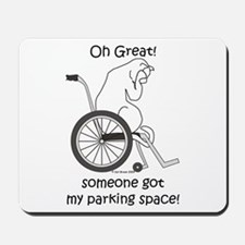 Parking Space?? Mousepad