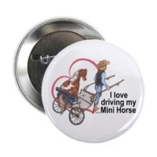 "Love Driving PMH 2.25"" Button (10 pack)"