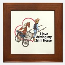 Love Driving PMH Framed Tile