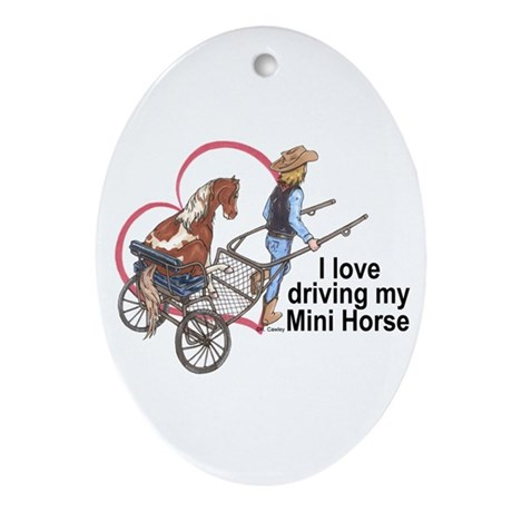 Love Driving PMH Oval Ornament