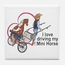 Love Driving PMH Tile Coaster