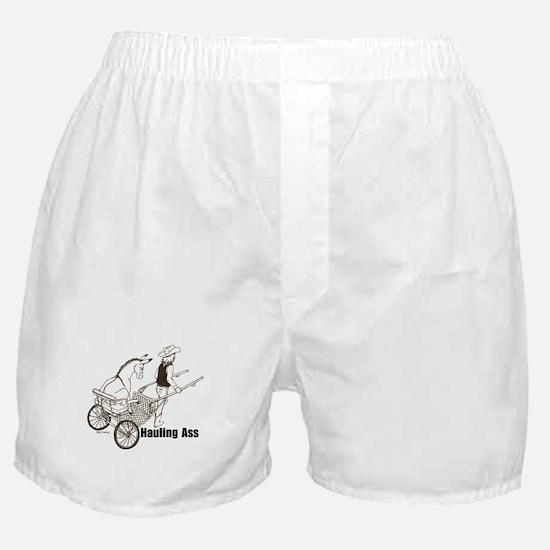 Hauling A Boxer Shorts