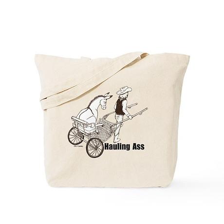 Hauling A Tote Bag