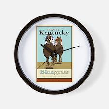 Travel Kentucky Wall Clock