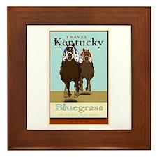 Travel Kentucky Framed Tile