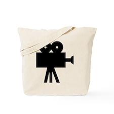 hollywood movie camera Tote Bag